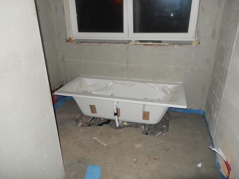 bouwen bad 1